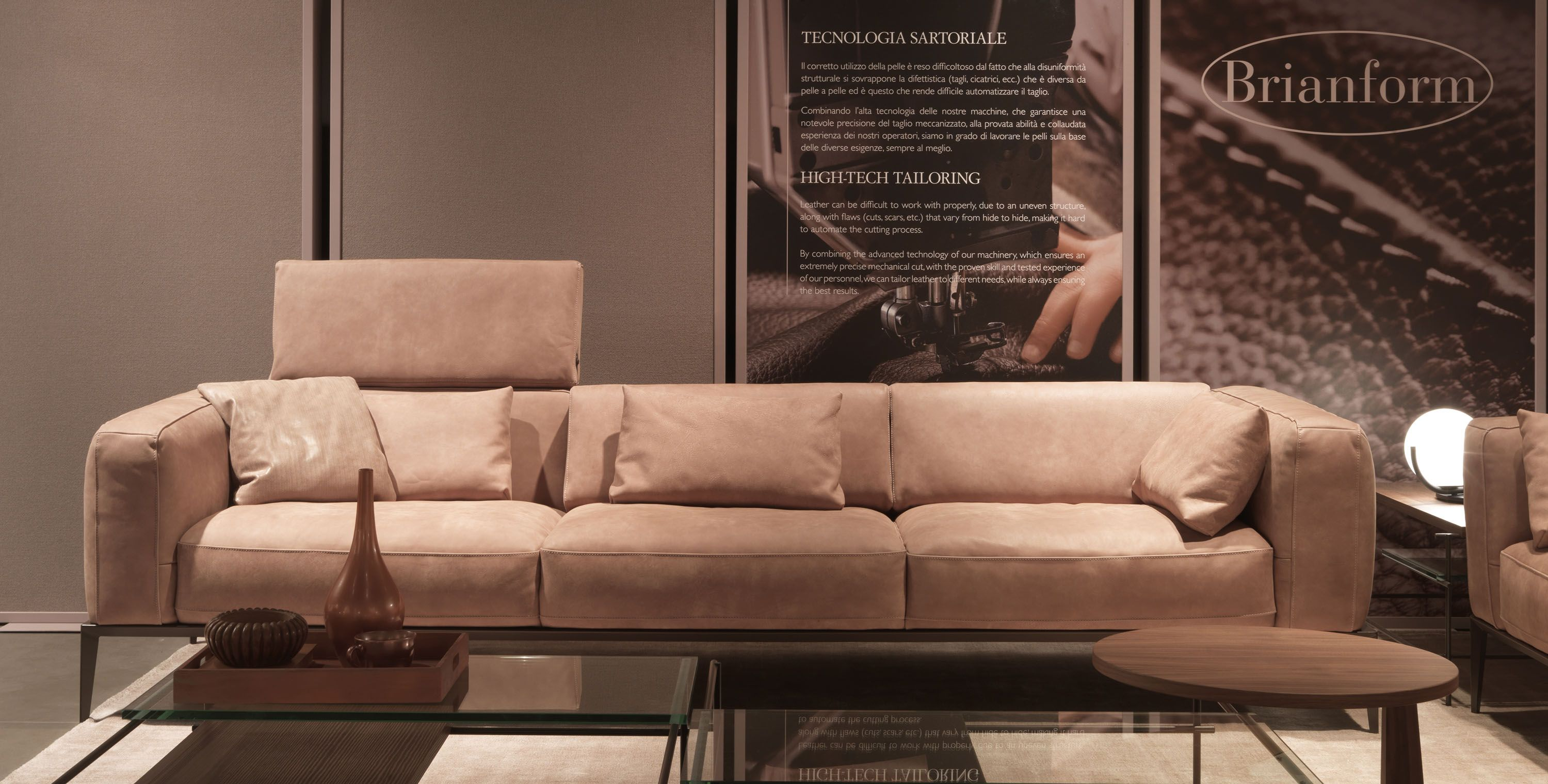 Two Pieced Italian Leather Sofa Set In Tan Leather Sofa Set Italian Sofa Designs Genuine Leather Sofa