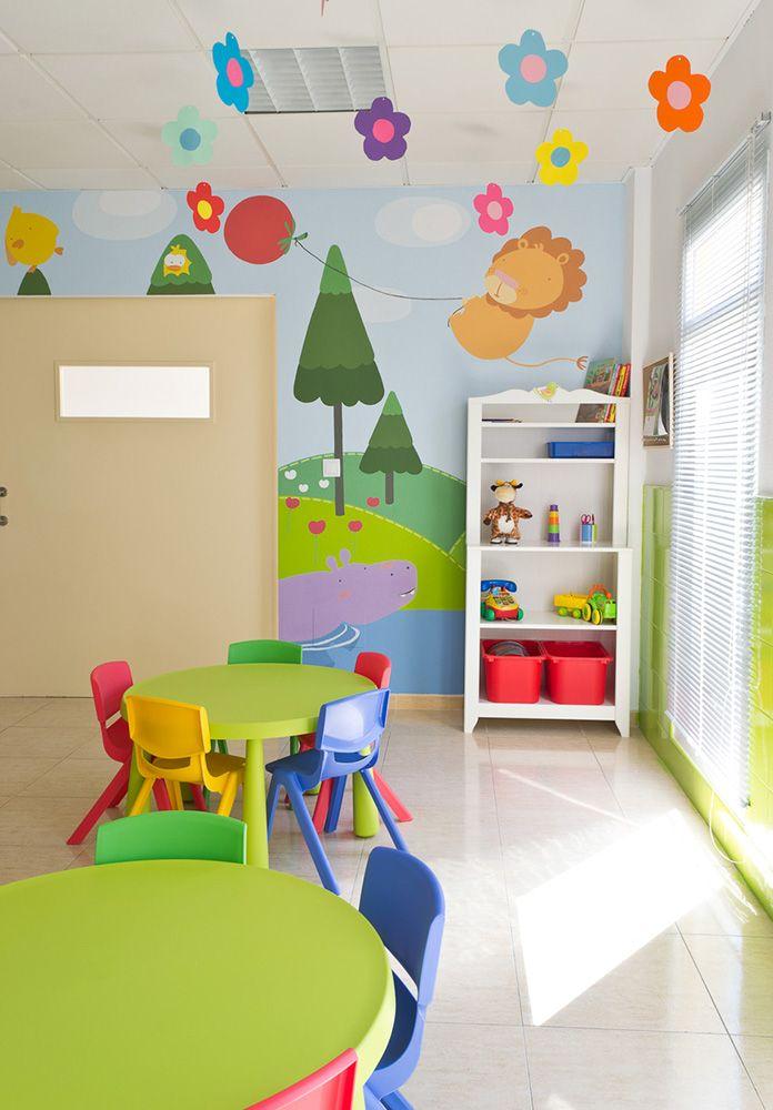 Mural infantil pintado en murcia murales mural infantil guarderia infantil y infantiles - Mural habitacion infantil ...