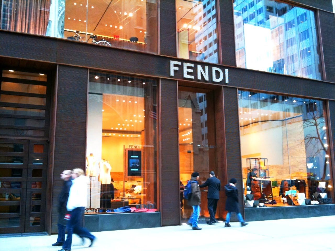 Fendi stores | Fendi store on 5th Avenue - New York City ...