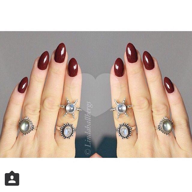 Almond Shaped Nails Nails How To Do Nails Linda Hallberg