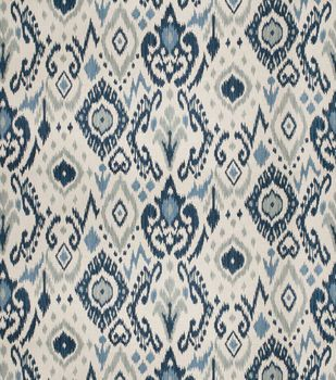 Eaton Square Upholstery Fabric Frisco/Blue. Drapery FabricIkat FabricHome  ...