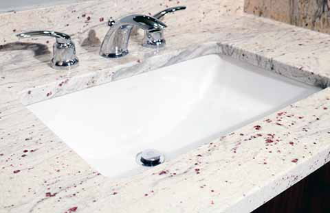 Awesome Let s take a look at one of the most popular white granites on the market – River White Granite Fresh - Fresh White Granite New Design