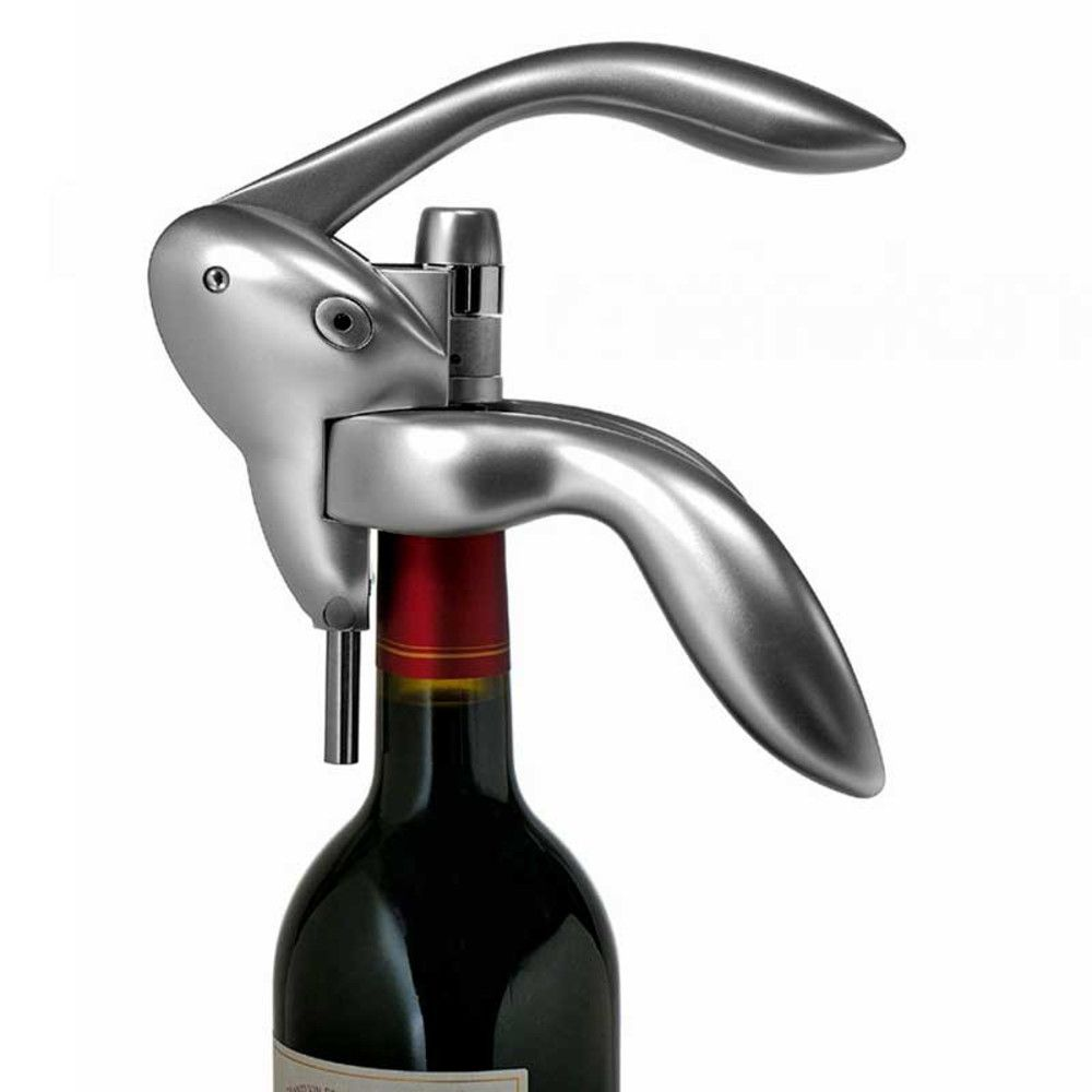 The Houdini Corkscrew Works Like Magic Push Down And Pull Up To