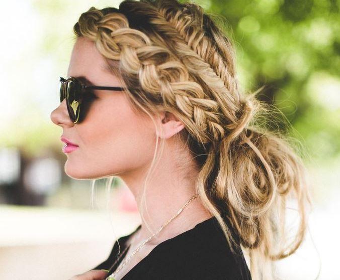 Okul Icin 7 Muhtesem Sac Modeli Ve Stili 2015 Braided Hairstyles