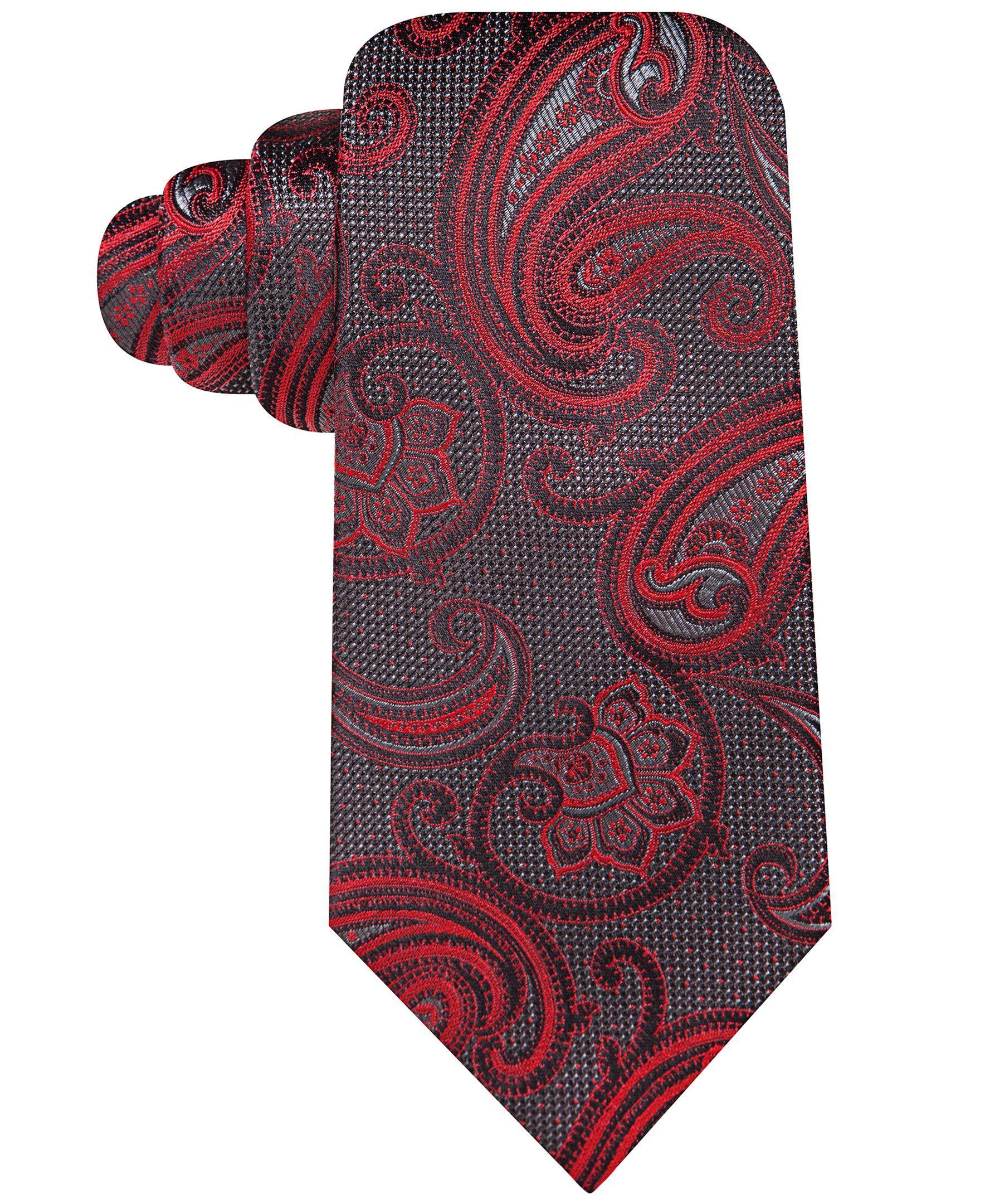 Countess Mara Textured Paisley Tie