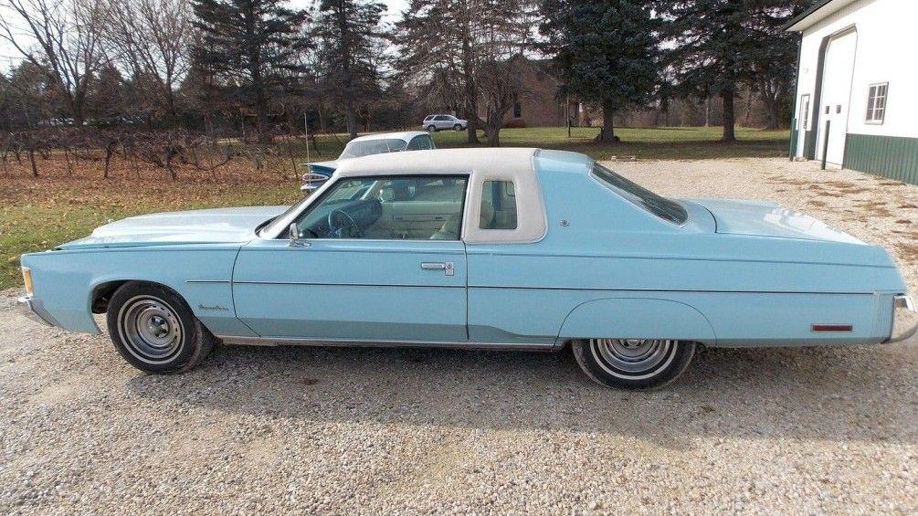 Huge Survivor Coupe 1976 Chrysler Newport Chrysler Newport