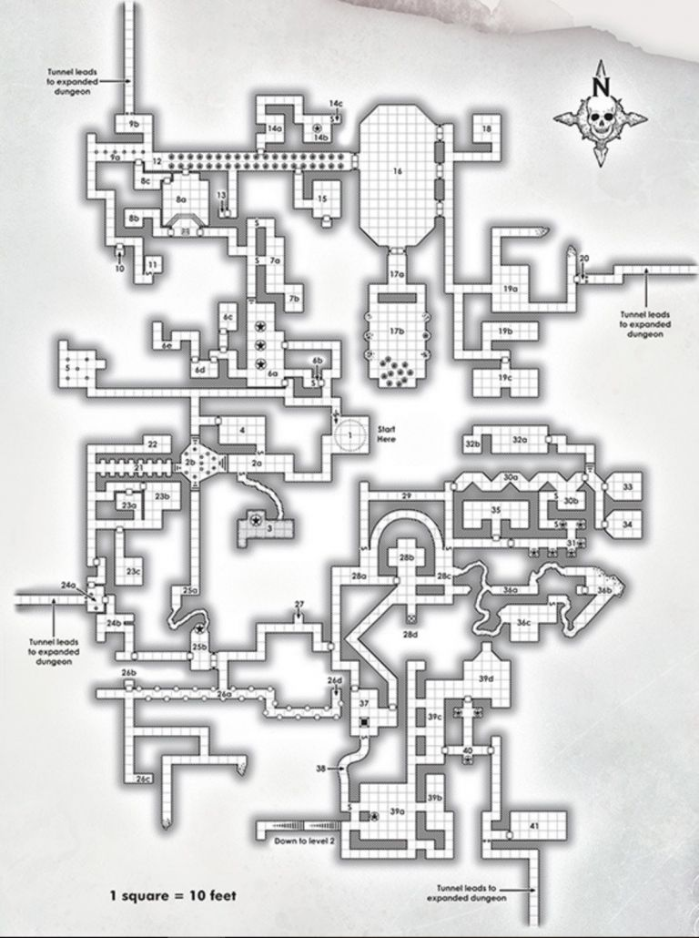 D&D: Dungeon Of The Mad Mage's Maps Are Intricate And Massive - Bell