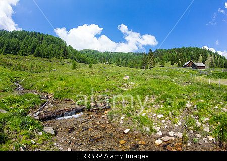 #Creek At Mt. #Mirnock @alamy #alamy #ktr15 @carinzia #landscape #nature #hiking #summer #season #spring #mountains #nockymountains #austria #carinthia #bluesky #holidays #active #sport #view #green #stock #photo #portfolio #download #hires #royaltyfree