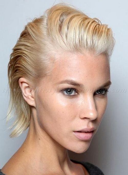 Image Result For Combed Back Haircut Women Short Hair Styles Hair Styles Slick Hairstyles