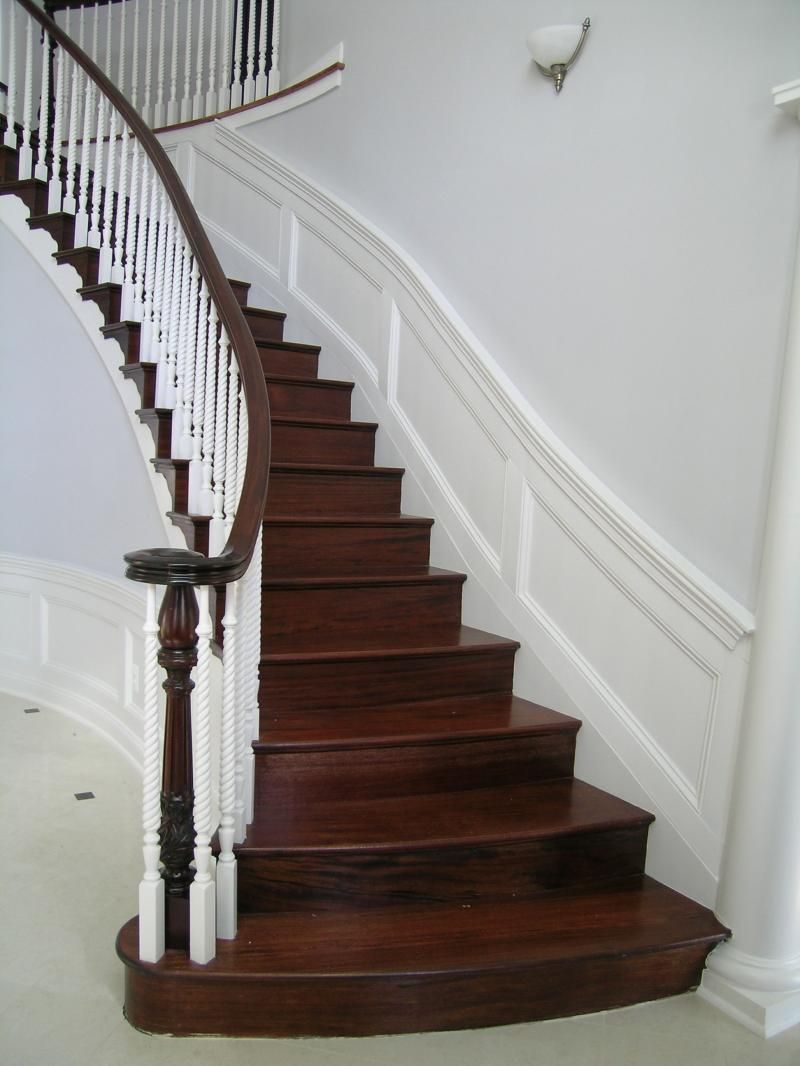 Best Grand Old Mahogany Staircases Diy Staircase Makeover 400 x 300
