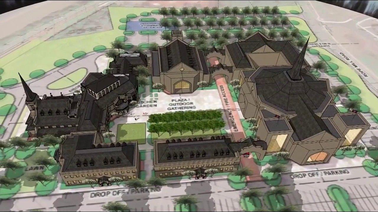 Church building design and master plan youtube by calbertdesign also www rh pinterest