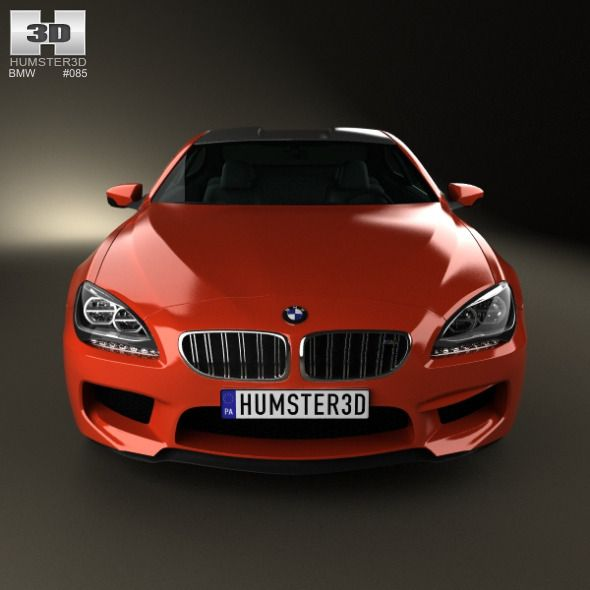 Bmw 6 Series F13 Coupe M Sport Package 2015 3d Model: Bmw, Bmw M6 Coupe, Vauxhall
