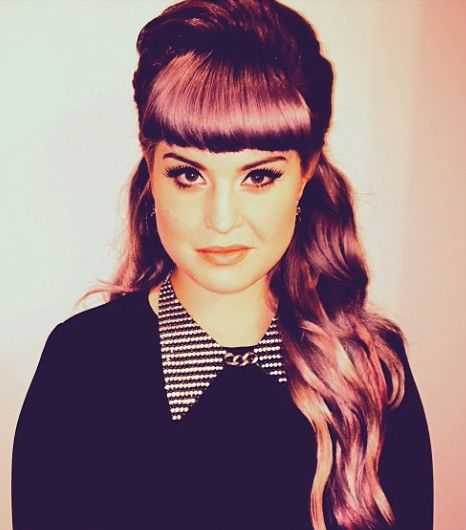 Kelly Osbourne's style is an artful combination of punk and pretty WANT WANT WANT my hair like this