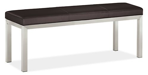 Portica Leather Benches - Benches & Stools - Living - Room & Board