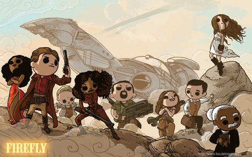 Cute Firefly characters
