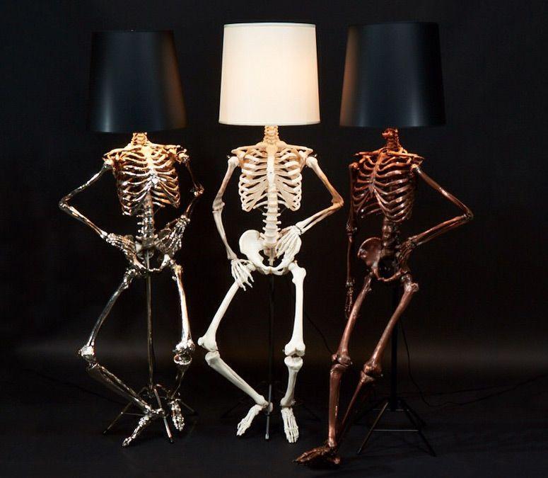 Lifesize Skeleton Floor Lamps Unusual Floor Lamps Cool Lamps Floor Lamp