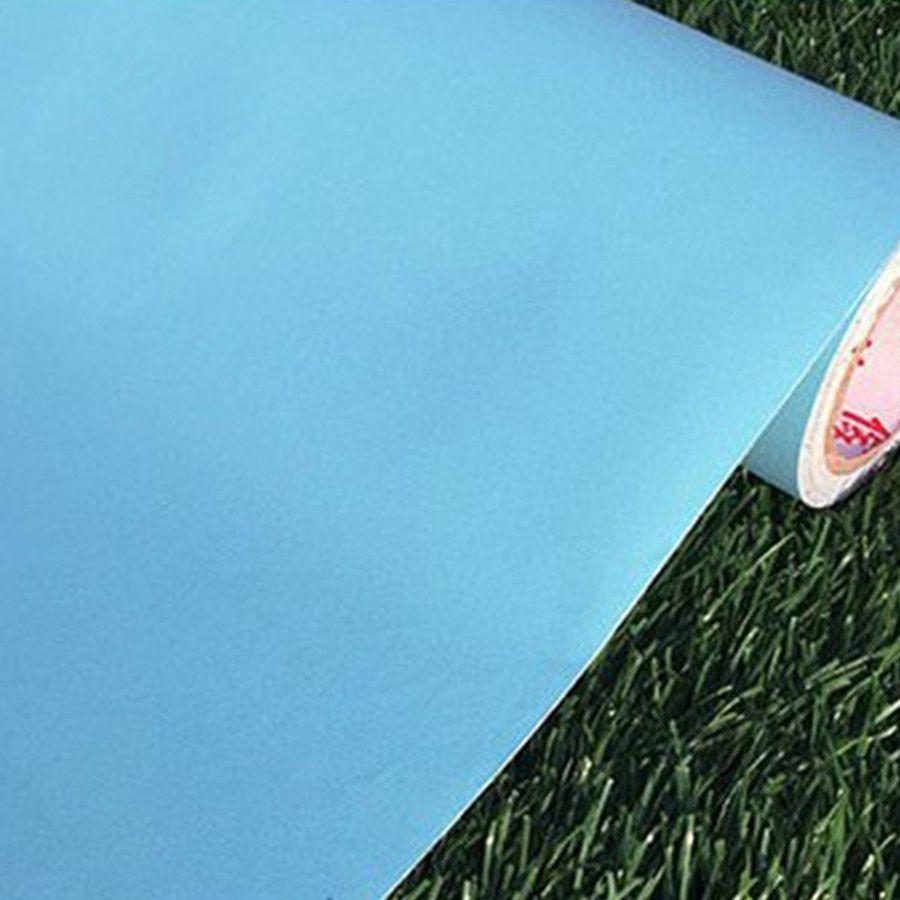 60cm 3m Solid Matt Vinyl Self Adhesive Wallpaper Diy Waterproof Wall Stickers Home Decor Films Living Room Kitchen Door Poster In 2020 Diy Wallpaper Wall Stickers Home Decor Door Poster