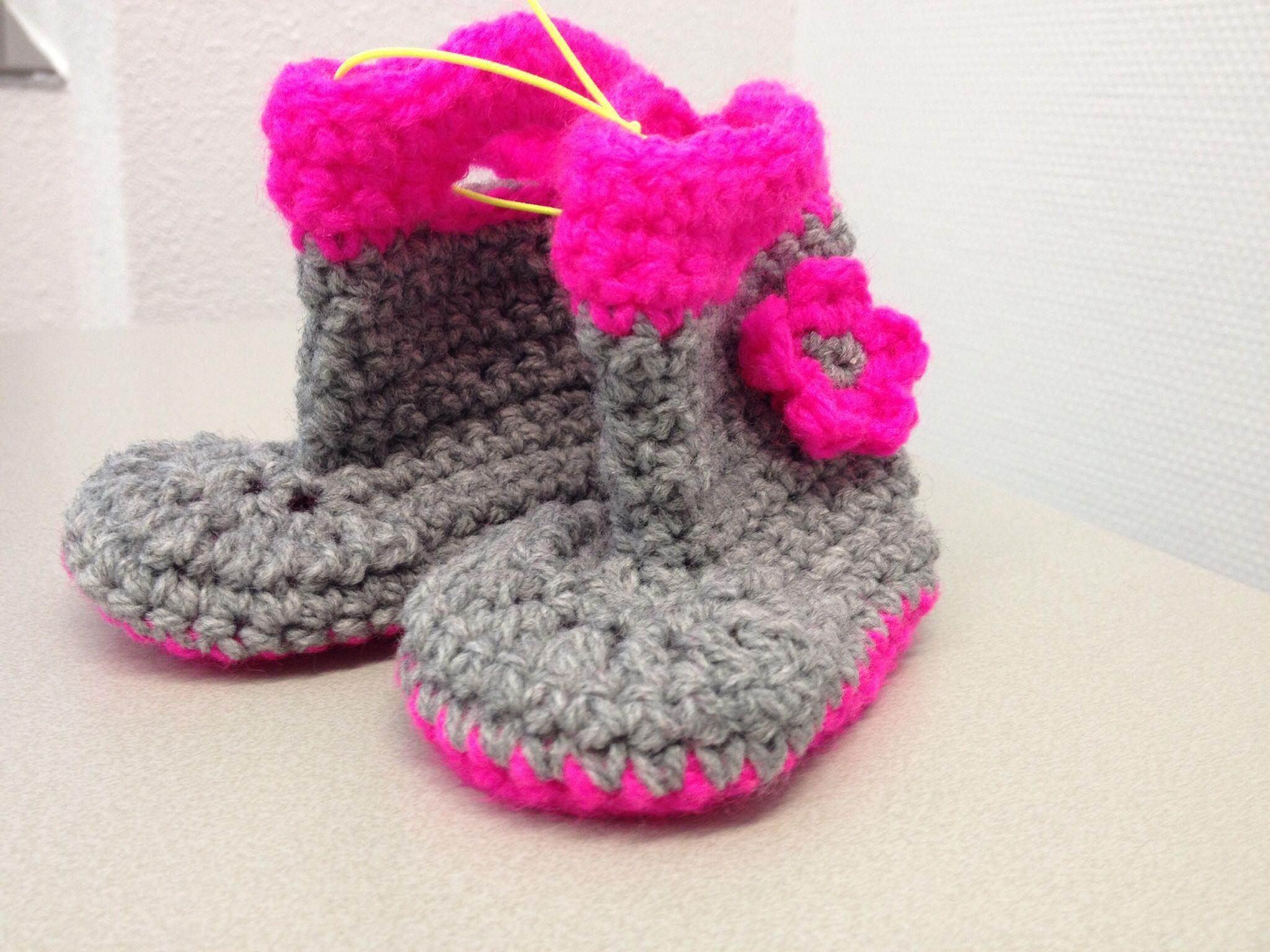 Babyboots crochet