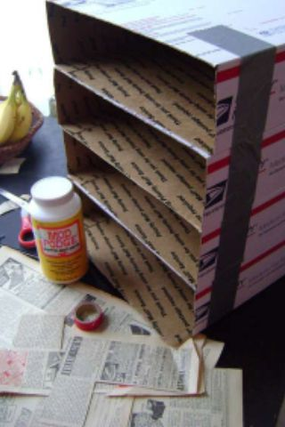 Repurpose Usps Boxes Do Not Try This Home It Is