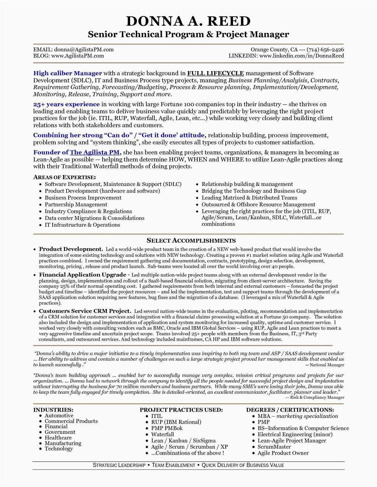 Computer Science Student Resume Awesome New Lean Six Sigma Resume Examples 50ger Project Manager Resume Manager Resume Job Resume Examples