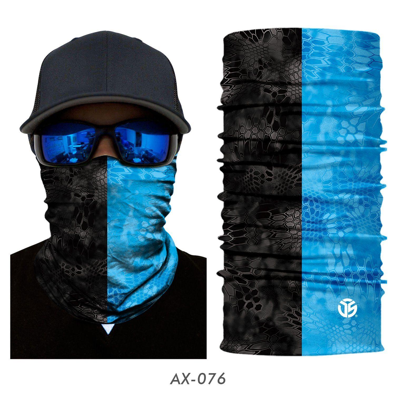 Pack of 2 Polyester Bandana Face Riding Motorcycle Mask Animal Ski Winter Neck Warmer Sun Balaclava Tactical Hood Helmet