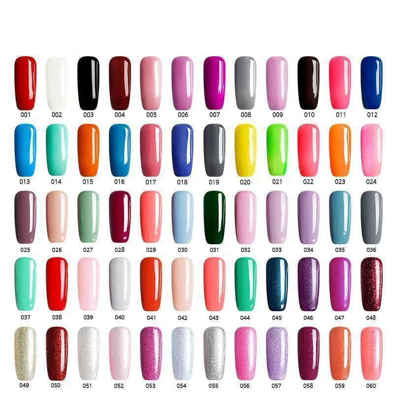 7a885177b13 Saviland Newest 3 In 1 Gel Nail Varnish Pen Glitter One Step Nail Gel Polish  Hybrid 60 Colors Easy To Use UV Gel Lacquer
