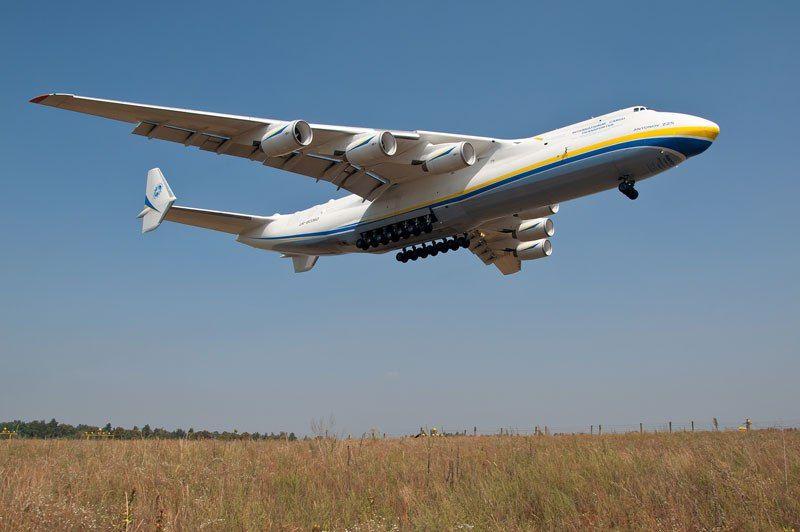 Largest Airplane Ever Built Antonov An 225 Mriya 9 Aircraft