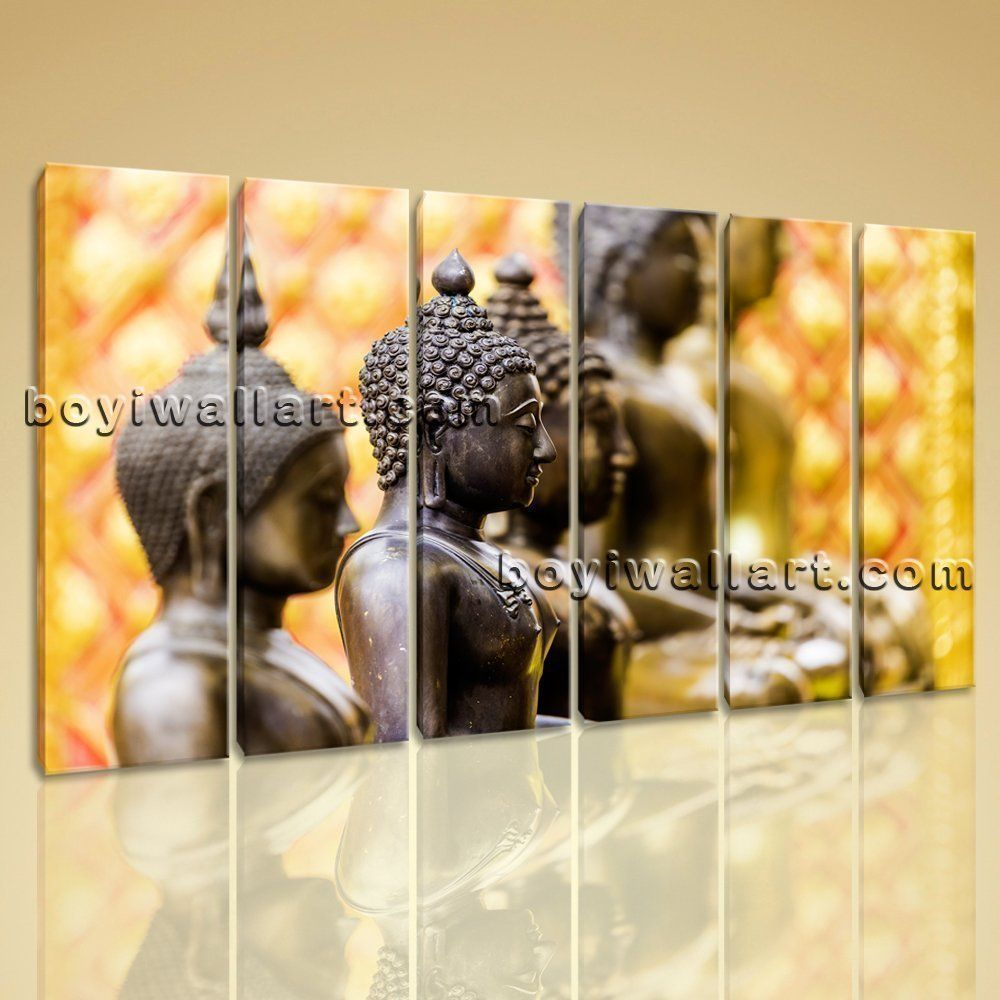 Buddha Zen Modern Contemporary Abstract Art Painting Canvas Wall Art ...