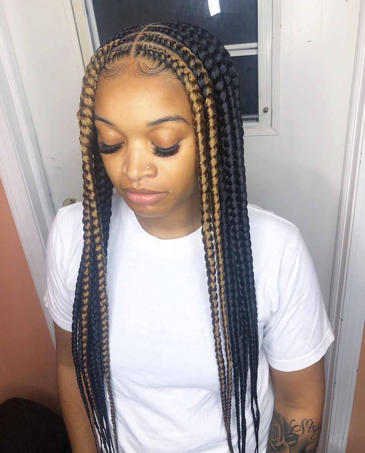 Check Out Simonelovee Cornrow Hairstyles Braided Hairstyles Kids Braided Hairstyles
