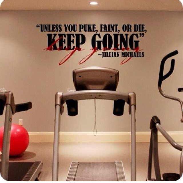 Motivational fitness room decor design inspiration gym room