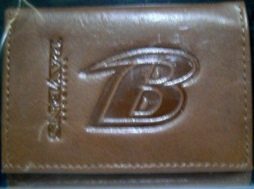 Rico Industries NFL Unisex NFL Leather Trifold Wallet with Man Made Interior