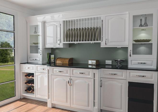 Best Canterbury High Gloss White Kitchen Doors White Kitchen 640 x 480