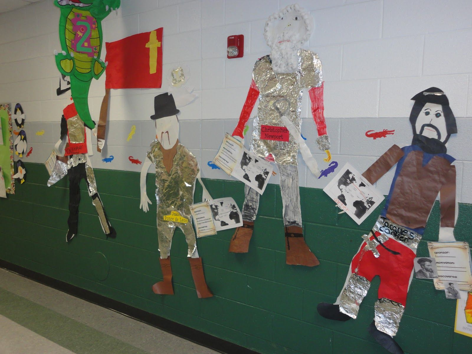 European Explorers Project Freebies