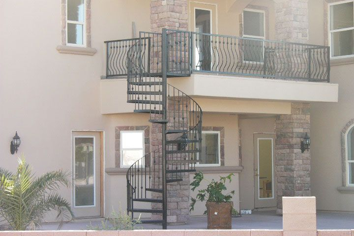 Best Would Love An Outdoor Spiral Staircase With A Balcony In 400 x 300