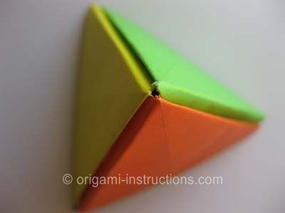 Origami Modular Pyramid Can Make Or Double Shaped Thingy By Using 6 Pieces Of Paper