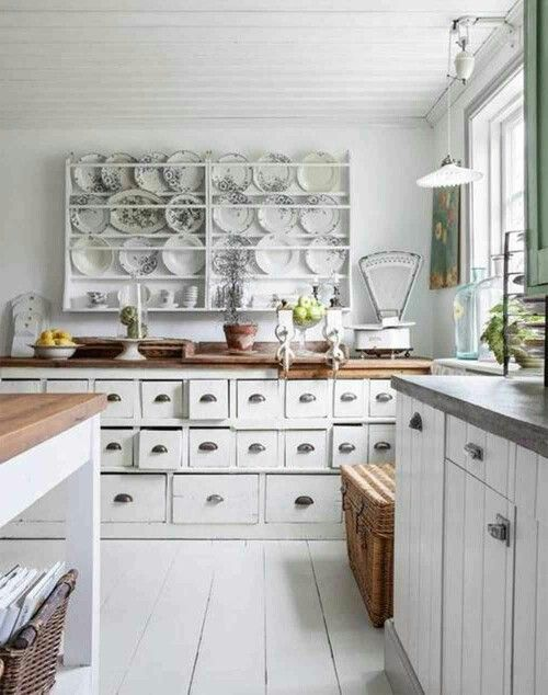Love the plate rack and who wouldn't want the drawer space. The accessories pull it all together. From: topicsusa.