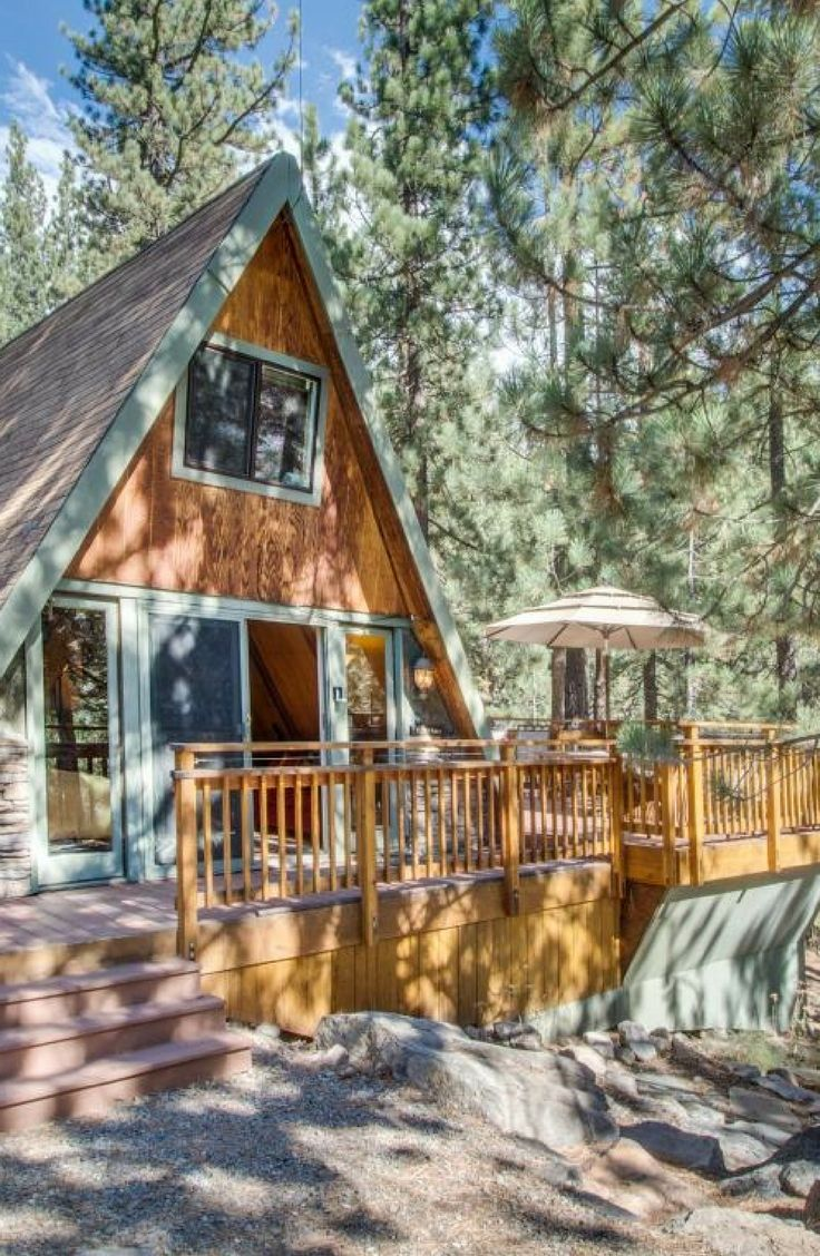 cabins lake tahoe cabin rent for log bliss house smallhousebliss small in via