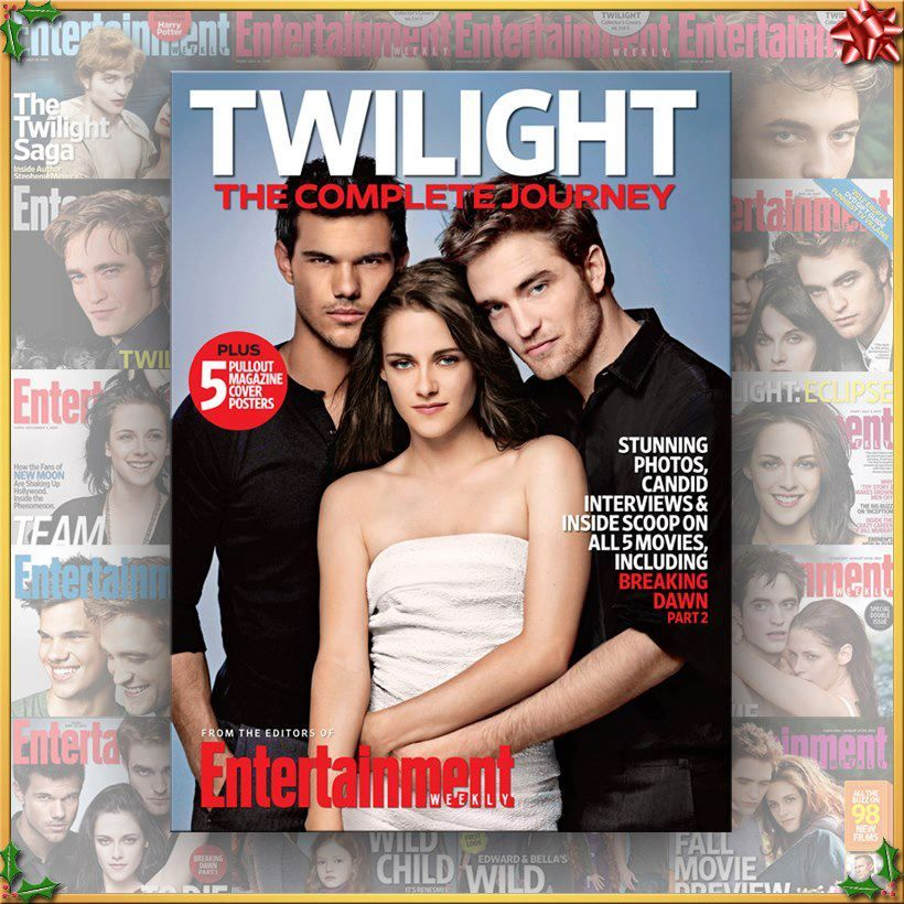 Magazine Cover Twilight movie, Kristen stewart twilight