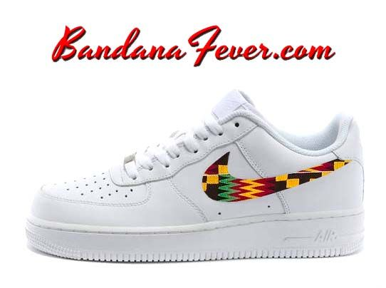 Bandana Fever | Custom Design Your Nike Shoes & Custom Converse Shoes. Air  Force ...