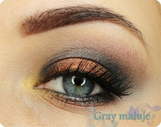 Copper for autumn by Gray on Makeup Geek