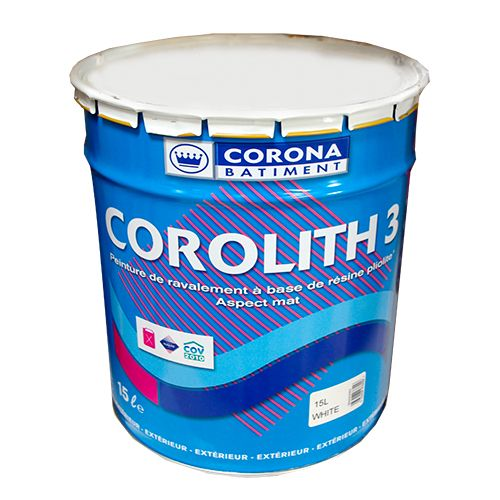Peinture CORONA BÂTIMENT Corolith 3 Actualités Pinterest - peinture satin ou mat