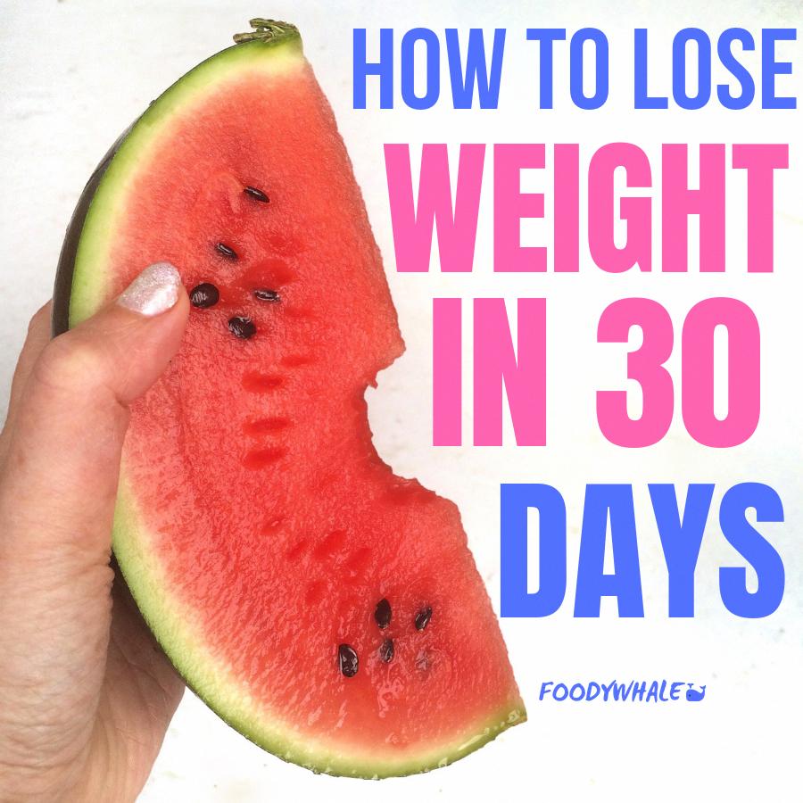 losing ten pounds in a week
