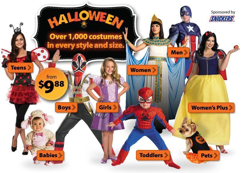 Diadelasbrujas / #Halloween - Descuentos en Walmart con disfraces ...