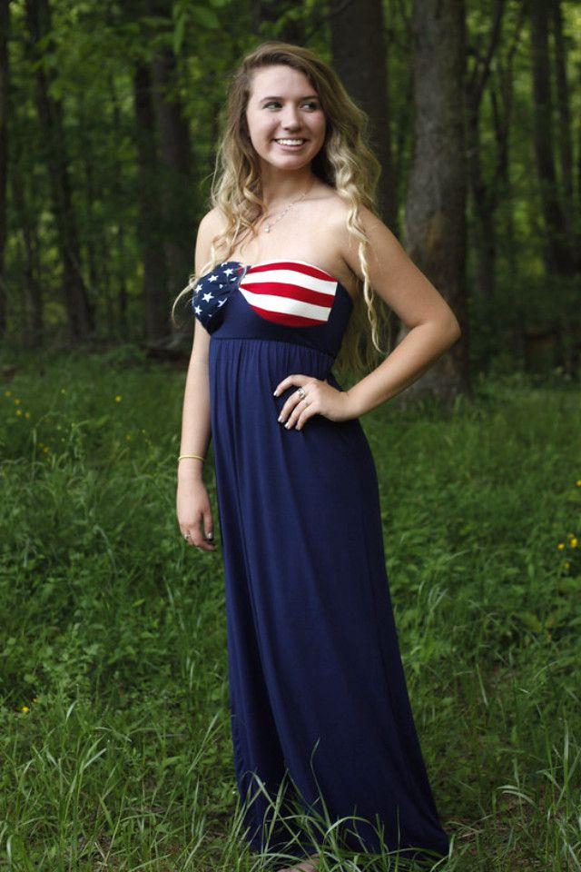 America The Beautiful Maxi