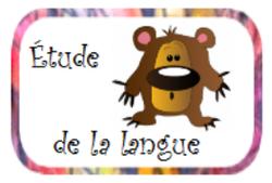 étude de la langue