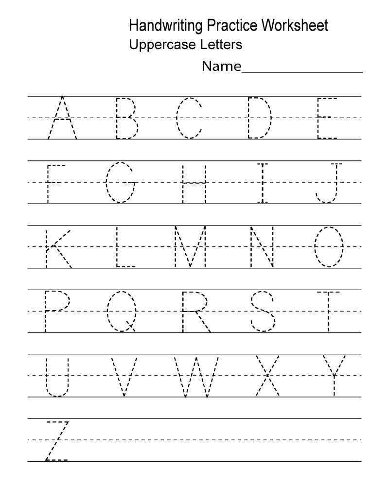 Kindergarten Worksheets Pdf Free Download Handwriting | Learning ...