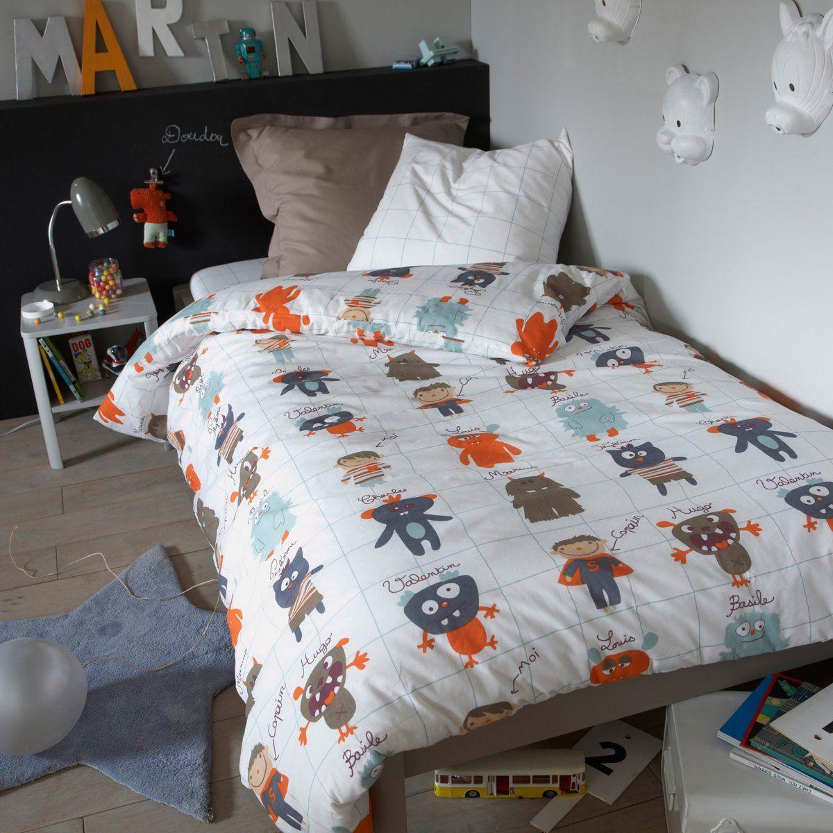 Housse De Couette Enfant Friends Co La Redoute Interieurs Prix Avis Notation Livraison La Housse Kids Duvet Cover Childrens Duvet Covers Duvet Covers