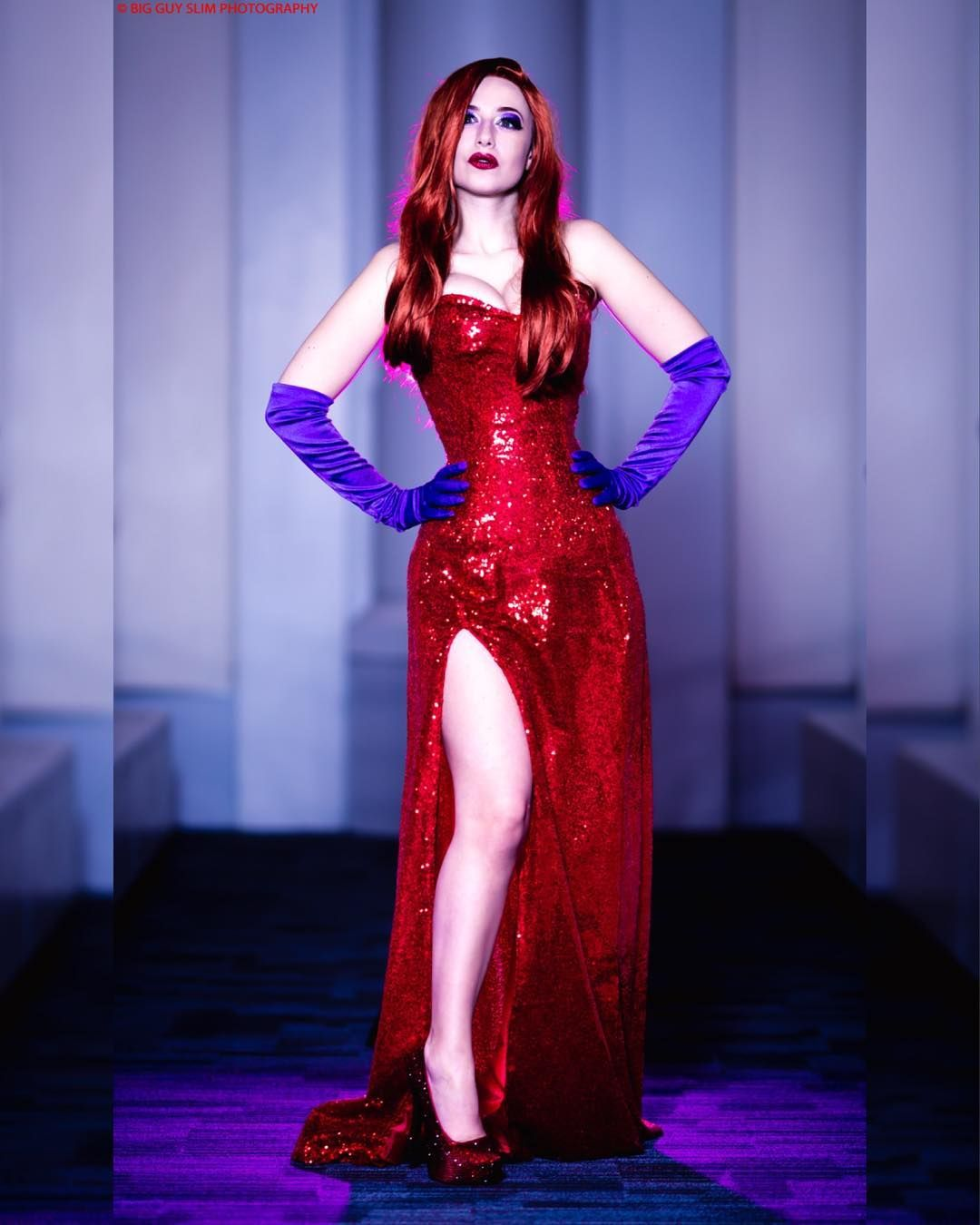 Pin on MOVIE Cosplay: Jessica Rabbit (Who Framed Roger Rabbit)