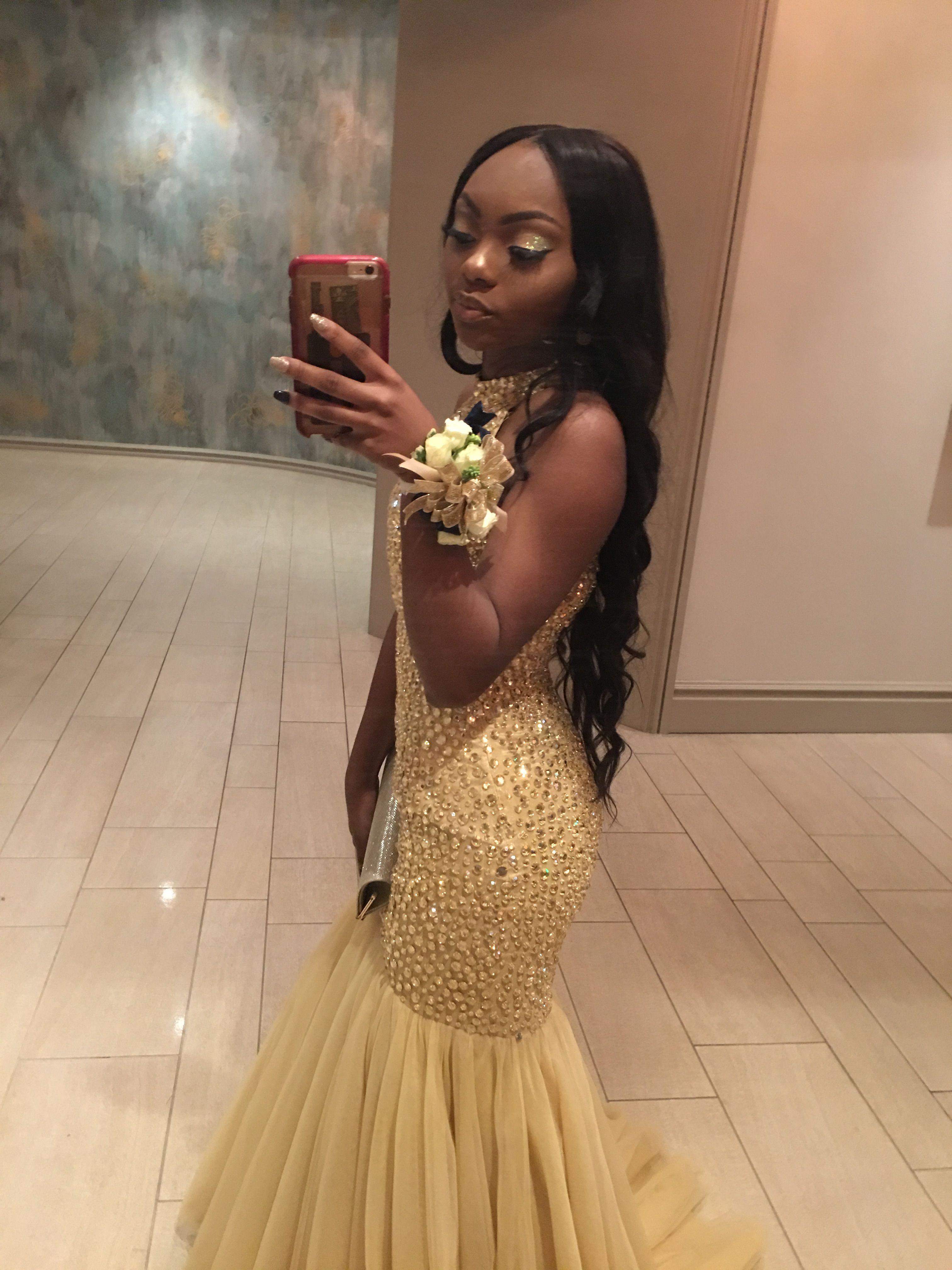 Gold prom dress prom k pinterest gold prom dresses prom