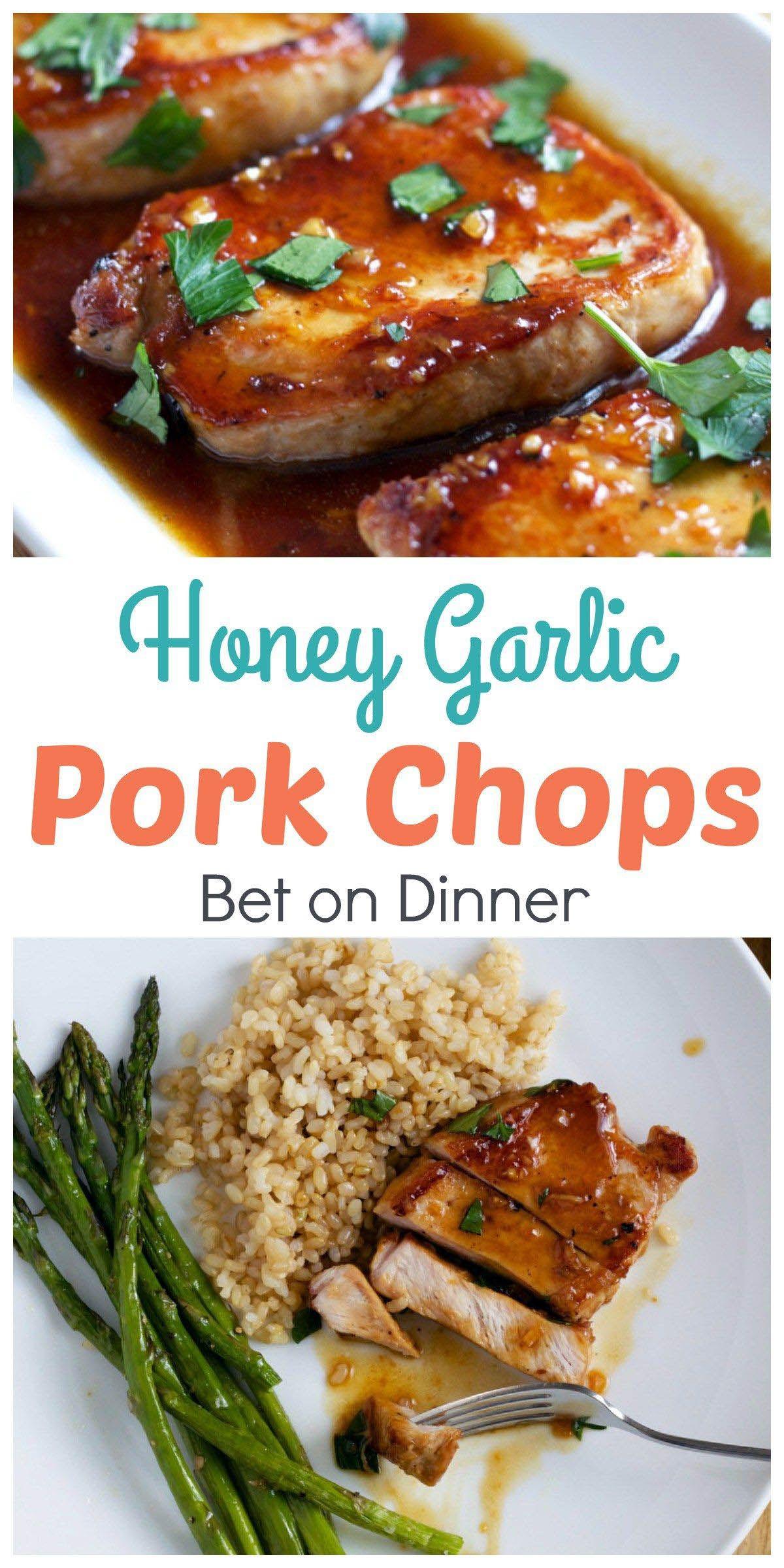 Amazing Easy 5 Step Dinner Recipes And Get Cooking Like A Pro Honey Garlic Pork Chops Recipes Pork Chop Recipes Crockpot